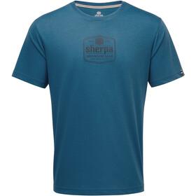 Sherpa Tashi t-shirt Heren blauw